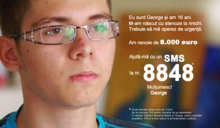 Să-i salvăm viața lui George