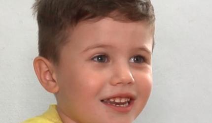 Ionuț are trei ani și are cancer hepatic