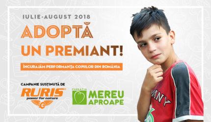 """Fundația Mereu Aproape și RURIS susțin copiii performanți din România prin proiectul """"Adoptă un Premiant"""""""