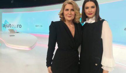 """Sandra Stoicescu, despre campania """"Ajut eu: """"Avem în ADN-ul nostru sã ajutãm, sã schimbãm vieţi!"""""""